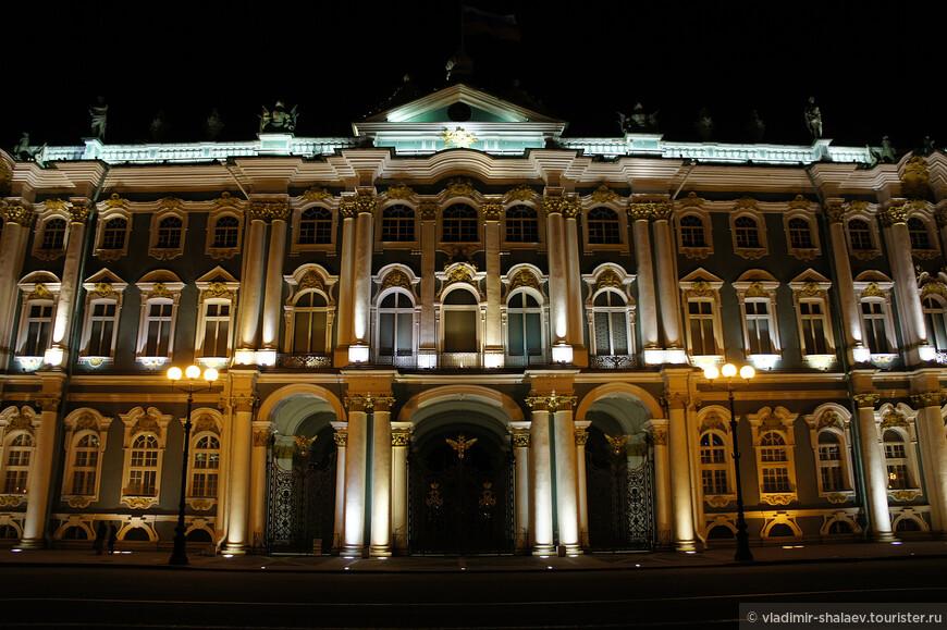 Фасад Зимнего дворца.