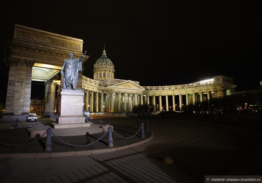 Памятник М.И. Кутузову.