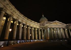 Тёмные ночи Петербурга.