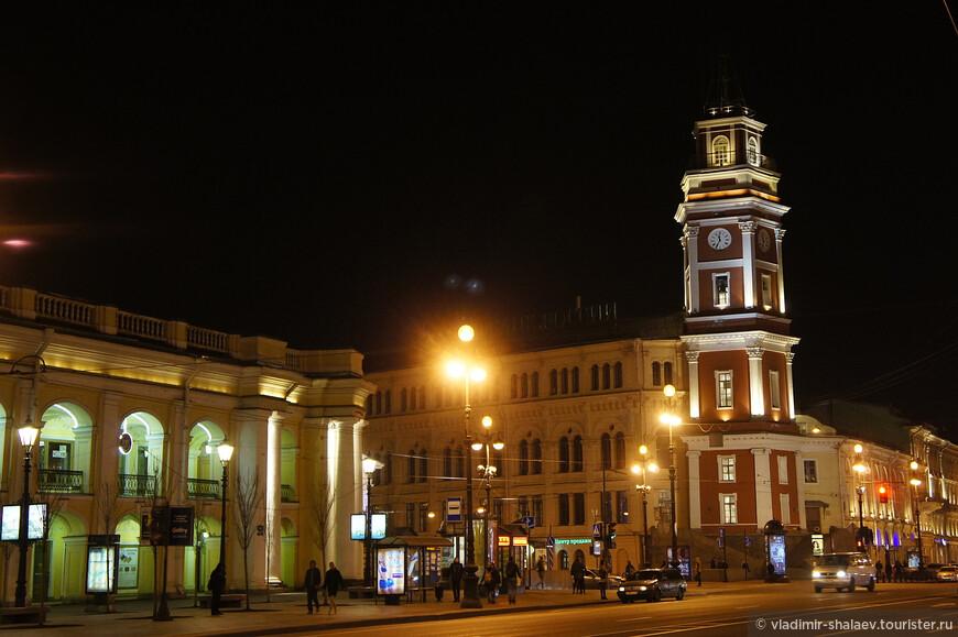 Башня Городской Думы.