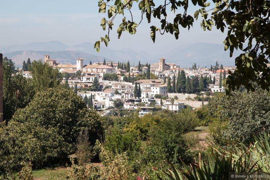 Вид на квартал Альбасин