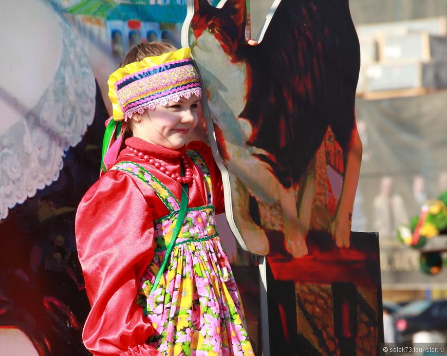 Настоящая русская красавица. Традиции и любовь к своей культуре необходимо воспитывать с самого детства