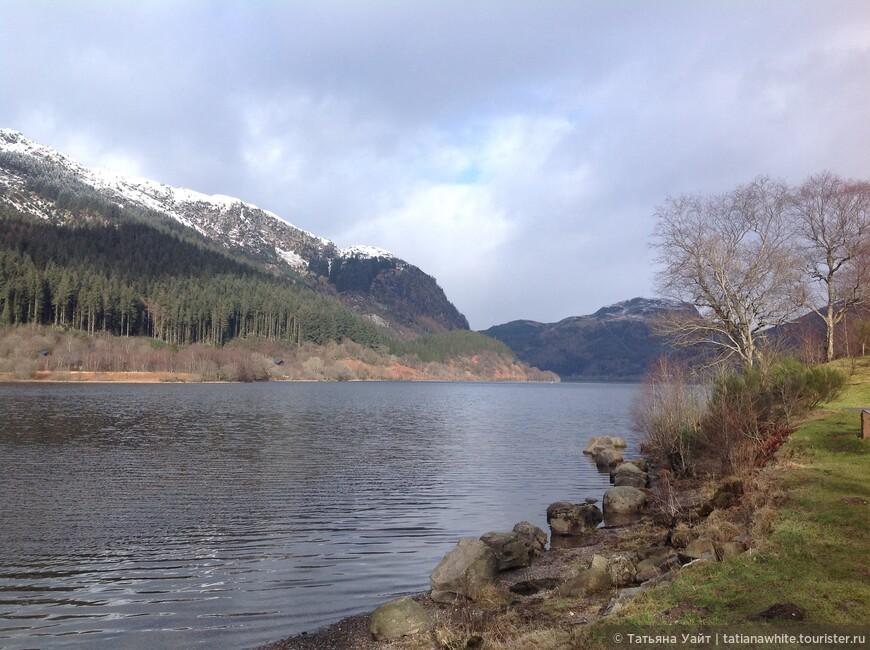 Горные озера Шотландии