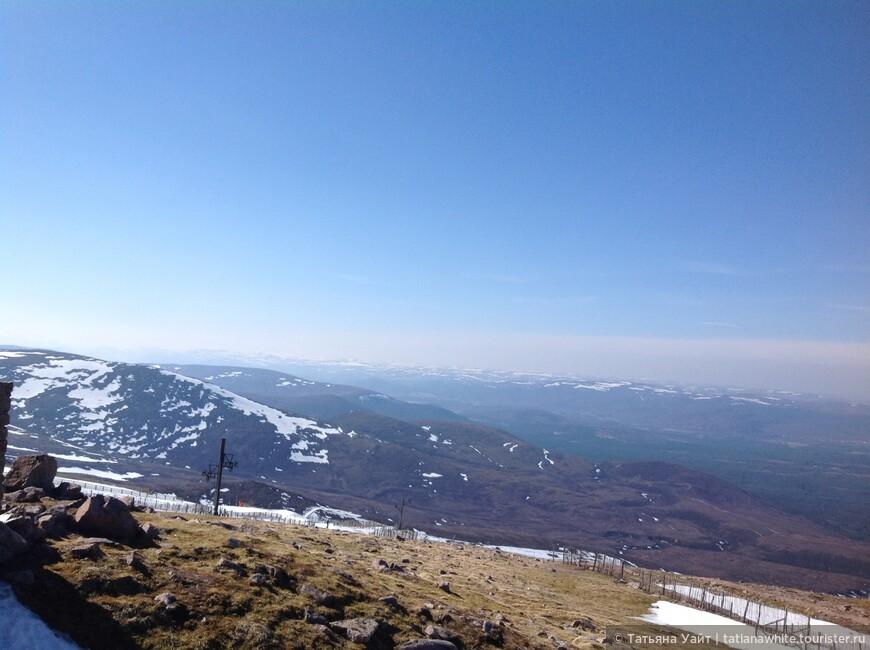 Панорама с лыжного курорта Авимор