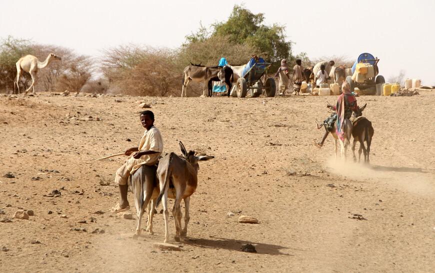 Однако, на этом обширном пространстве, они являются господами только в пределах пустыни, тогда как в удобных для земледелия странах, в Месопотамии, Халдее, на сирийской границе, в Варварийских владениях, нельских странах и у северной окраины Судана, рядом с ними и посреди них живут народы иного происхождения.