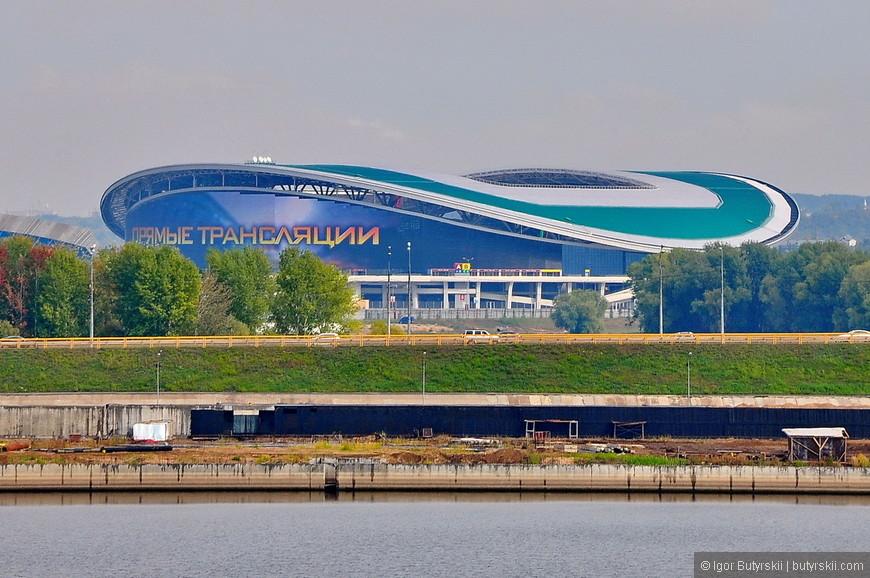 17. Новый стадион построенный к Универсиаде ждет игр Чемпионата мира по футболу 2018.