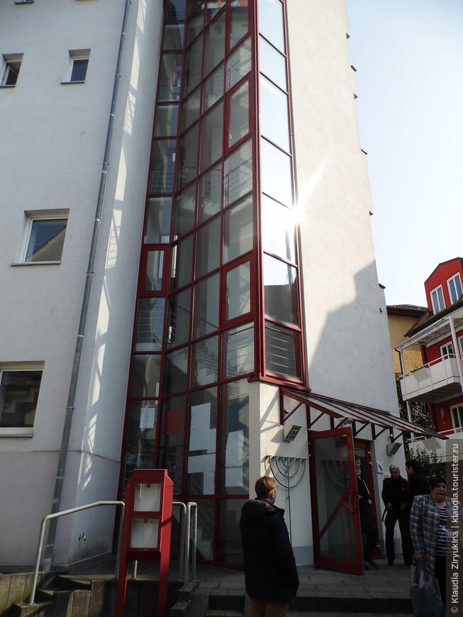 Здание Синагоги.