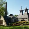 Вискикурня Страсайла сохранила в своем интерьере старинную водяную мельницу