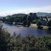 Один из панорамных видов Инвернесса с замкового холма