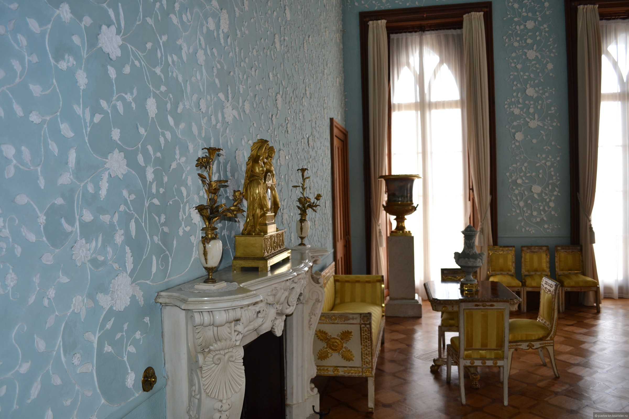 первого взгляда воронцовский дворец голубая комната фото связи, новый