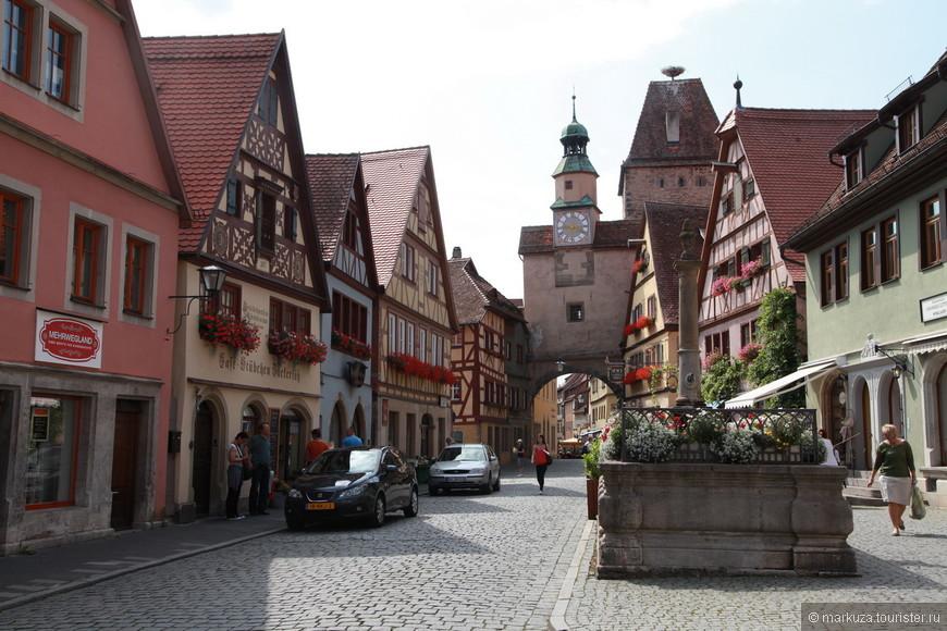 Ротенбург-на-Таубере - маленький городок в Баварии.
