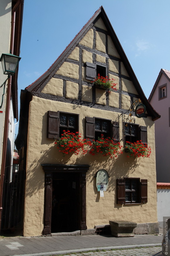 Староротенбургский домик ремесленников - вид снаружи