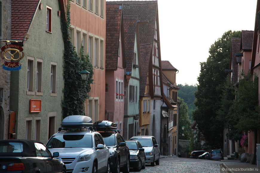 Ротенбург-на-Таубере продолжаем прогулку по улицам старого города