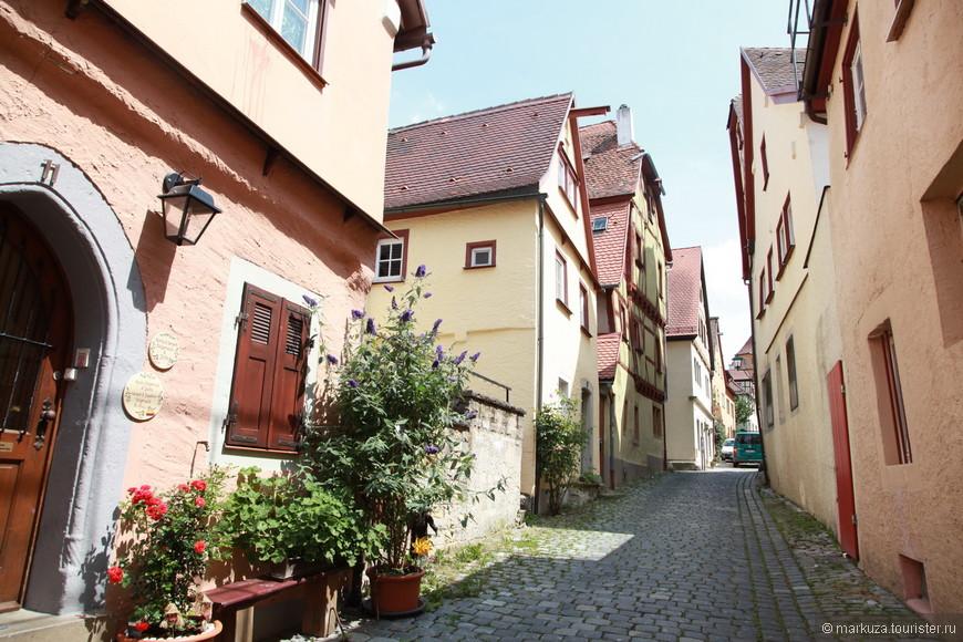 Ротенбург-на-Таубере, улица