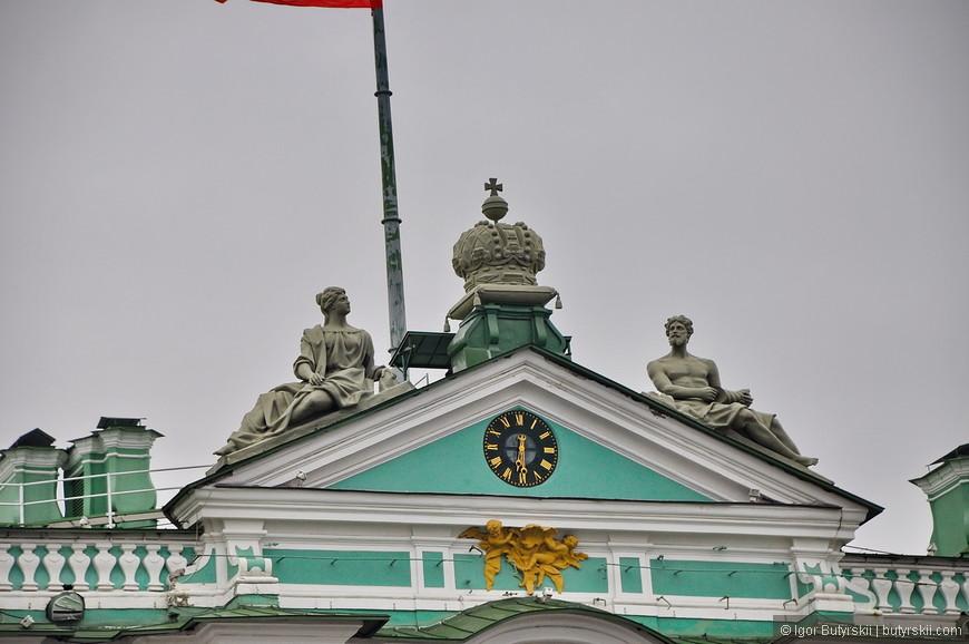 14. Элементы крыши центрального входа в Зимний дворец.