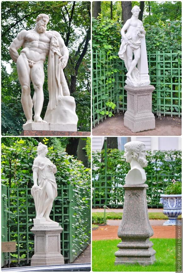 26. В Летнем саду находится большая коллекция статуй.