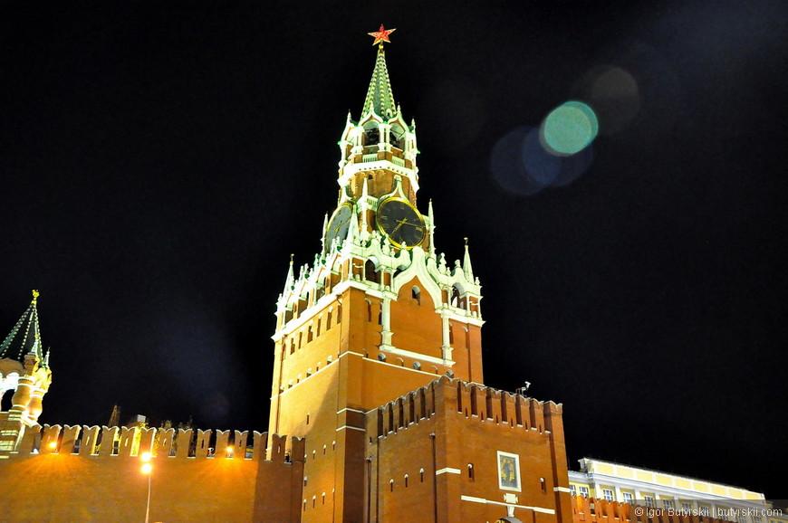 04. Спасская башня.