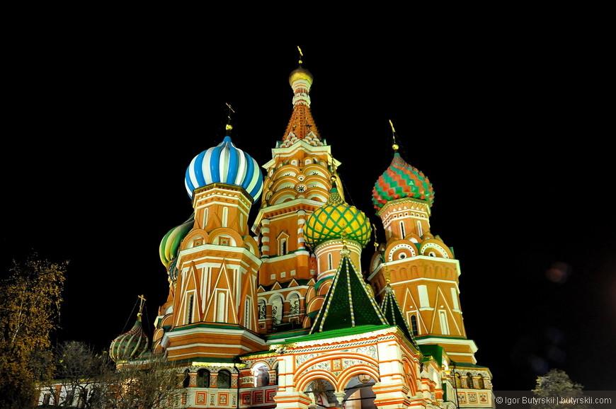 05. Один из главных символов России – прекрасный храм.