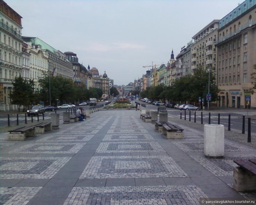 Вацлавская площадь.