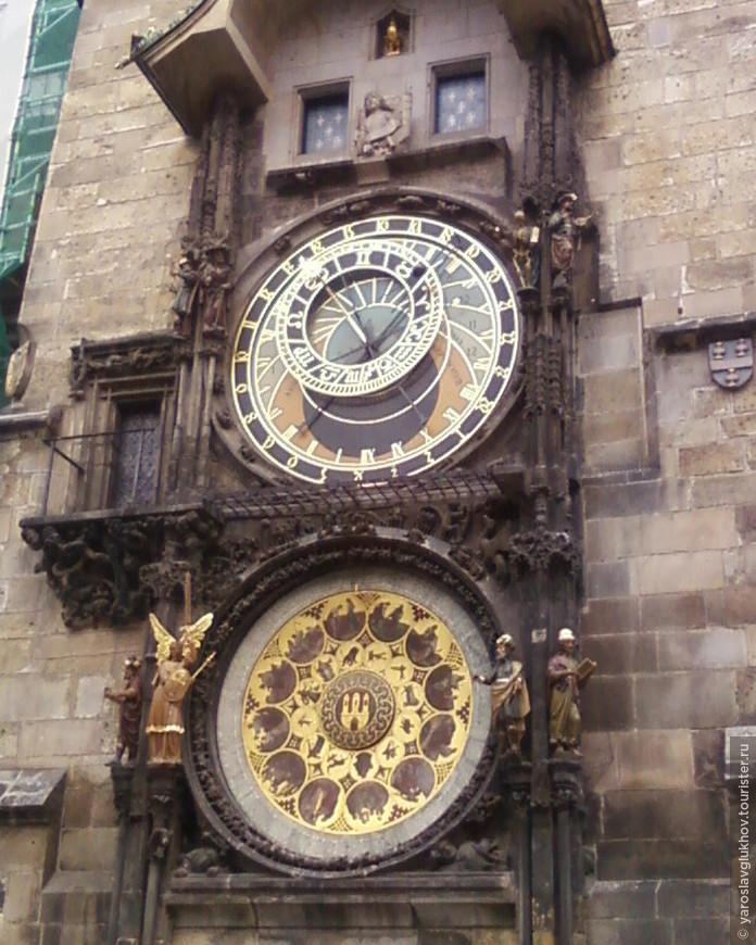 Знаменитые Пражские куранты — Орлой, установленные в 1410 году.