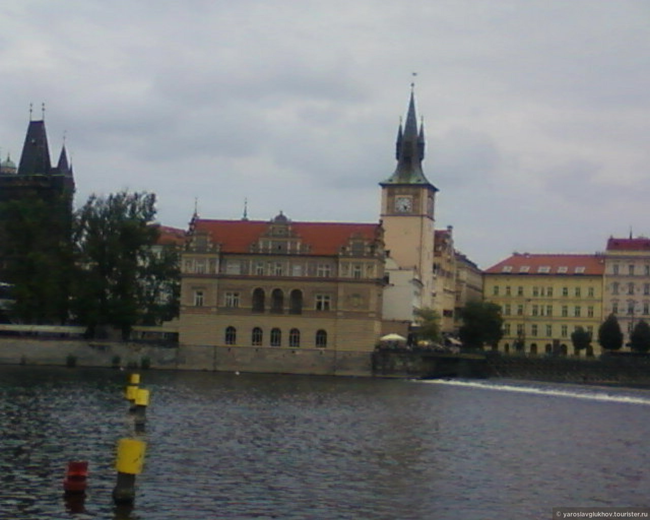 Вид на Староместскую Водонапорную башню., Пражские открытки