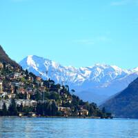 Лугано. Швейцария.
