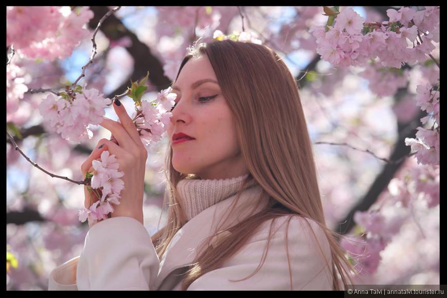 Вдыхаю ароматы весны