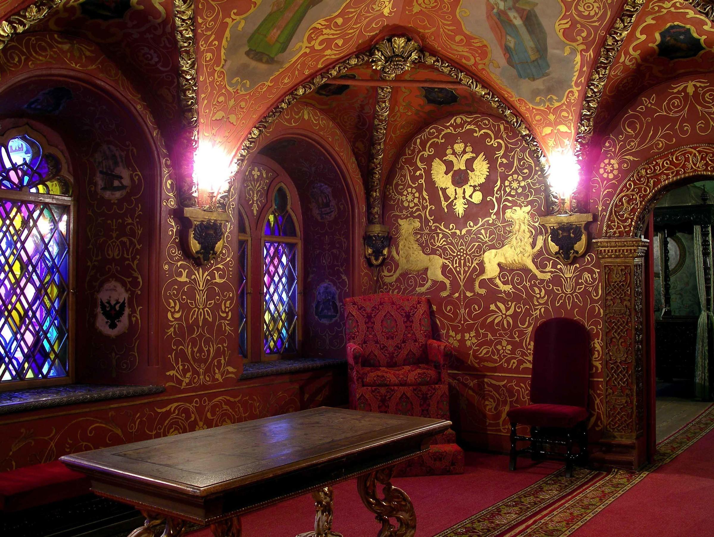 царские палаты их убранство картинки приведенная нформация