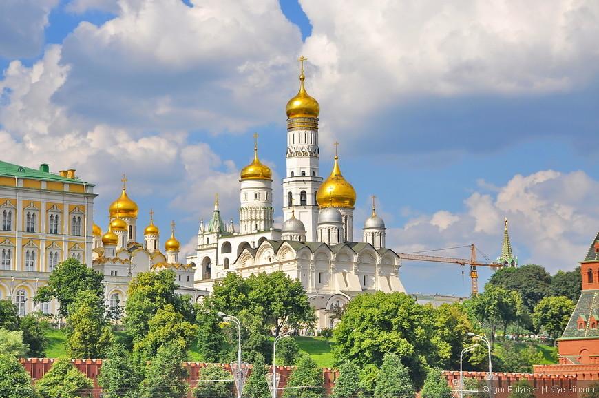 02. Кремлевские соборы, златоглавая столица.