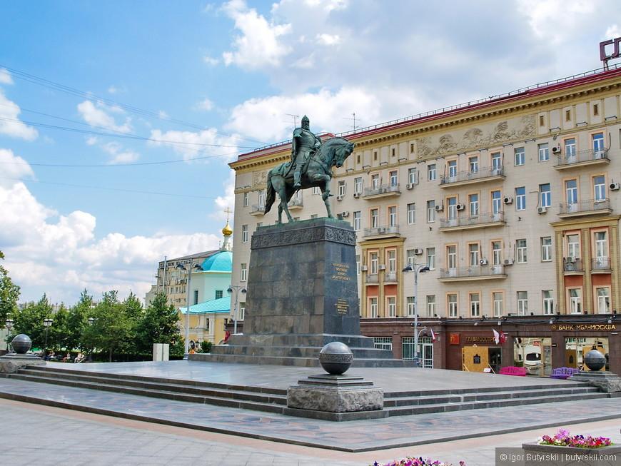 07. Памятник Юрию Долгорукому.