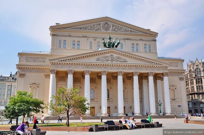 26. Большой театр после реставрации выглядит как новый.