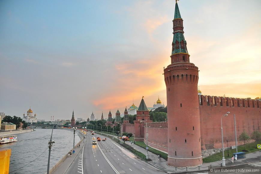 39. Закат над Москвой.
