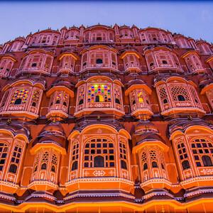 Хава махал — Дворец ветров. Джайпур
