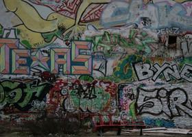 Берлин: граффити, сквоты, жизнь маргиналов