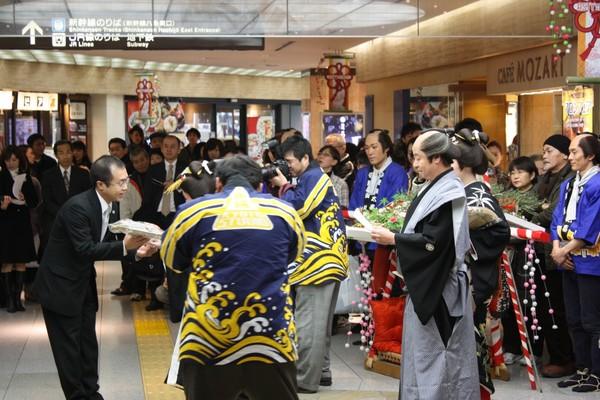 Случайно в Японии встретить гейшу