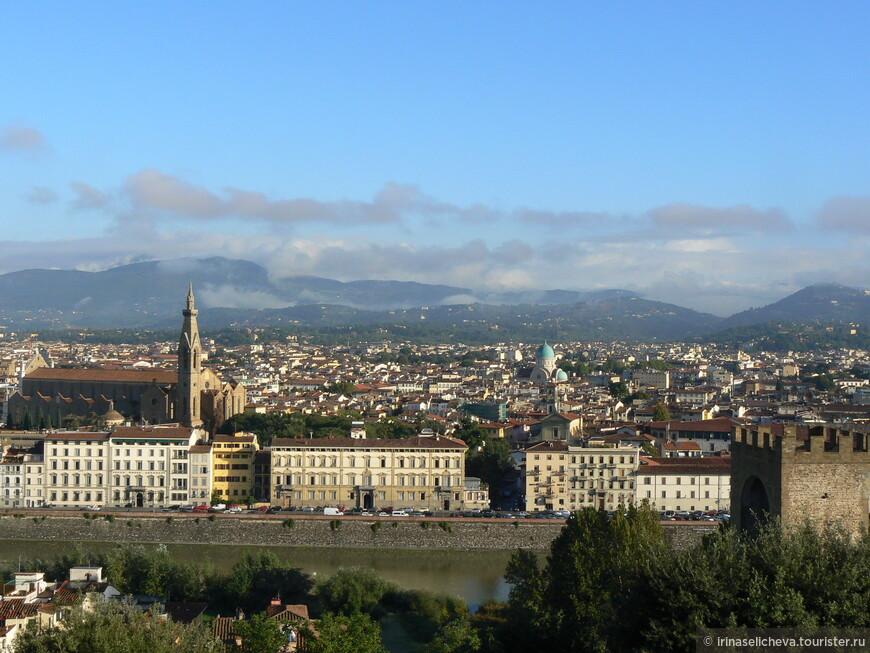 лучшее место на земле- площадь Микеланджело, обязательно для посещения, кто здесь не был- Флоренции не видал!
