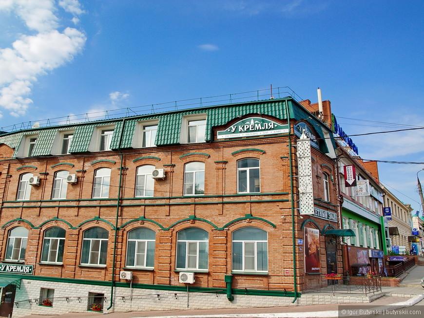 07. Симпатичная гостиница «У Кремля», действительно – только дорогу перейти.