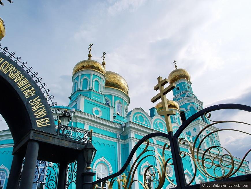 26. Самый красивый храм из всех в городе, потому что поддерживается в нормальном состоянии.