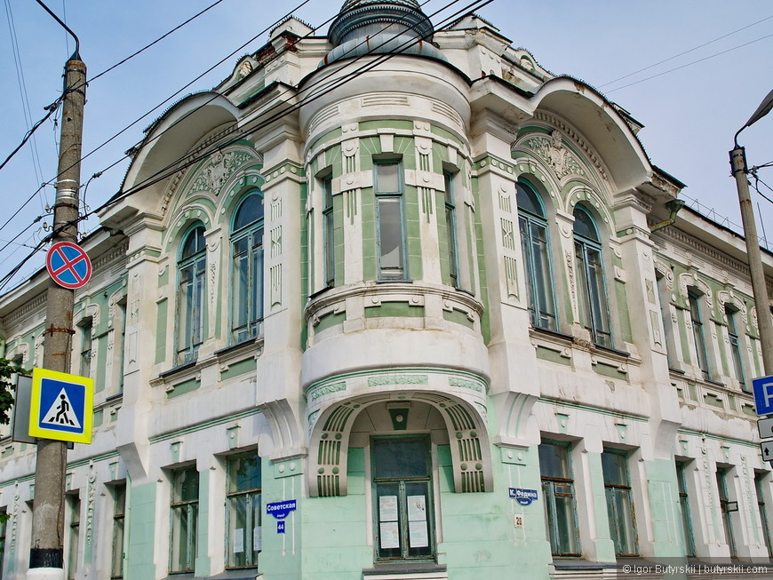 31. Отличной архитектуры в Сызрани невероятное количество, но ее состояние оставляет желать лучшего.