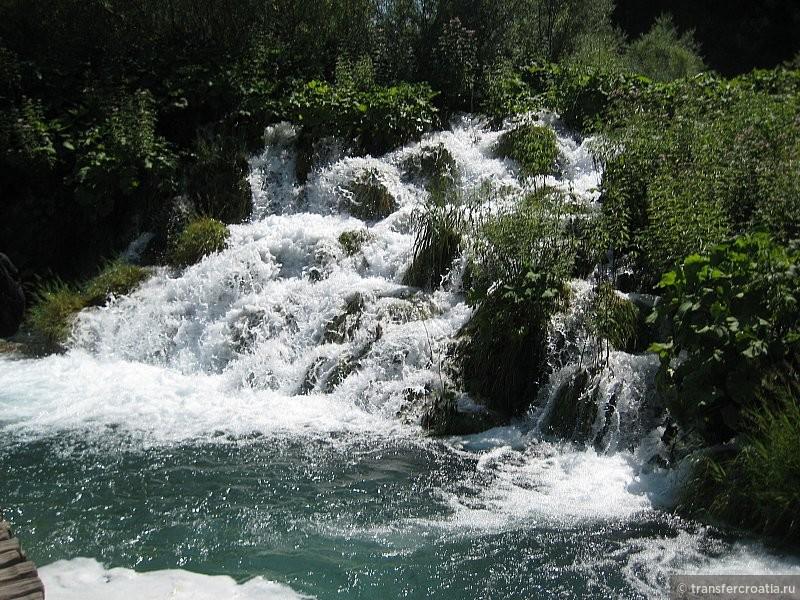 Водопады на Плитвецких озерах