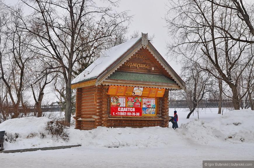 17. Хотя парк для зимы абсолютно не подготовлен. Почти все отделы закрыты, дороги почищены но без энтузиазма.