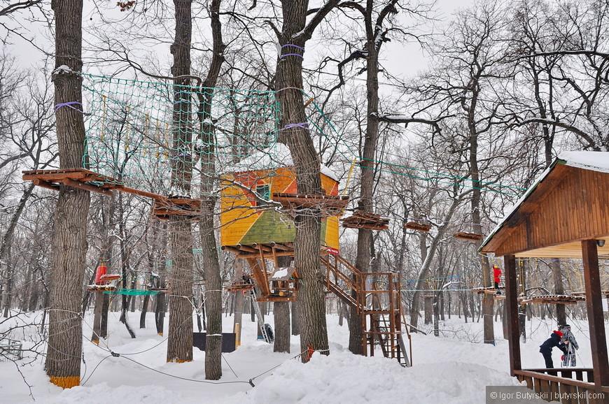 26. Летом в парке можно найти разные развлечения.