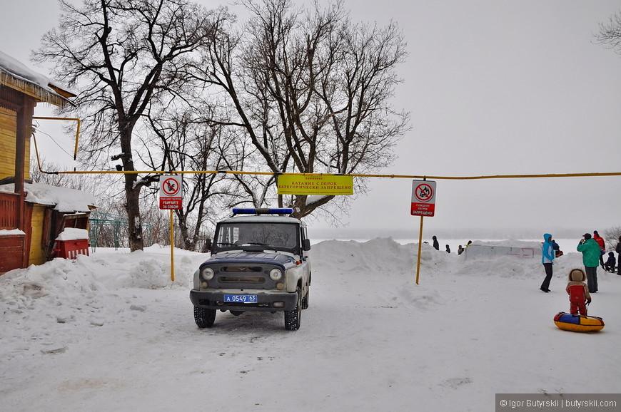 36. Катание категорически запрещено, все катаются, полиция просто сидит – типичная Россия.