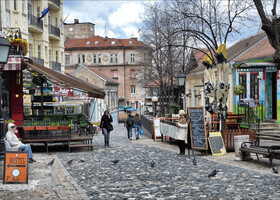 По Белграду