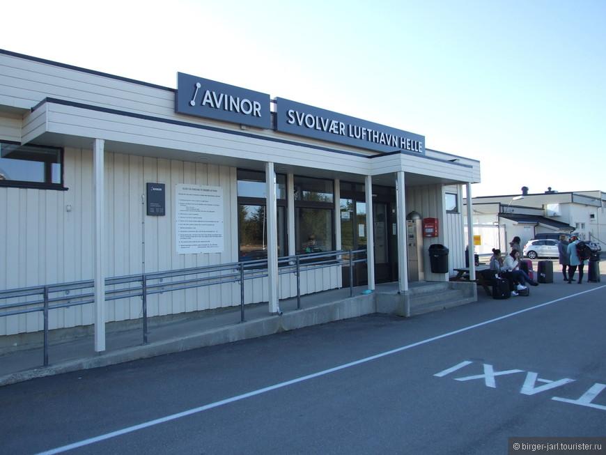 Svolvaer lufthavn Hella.