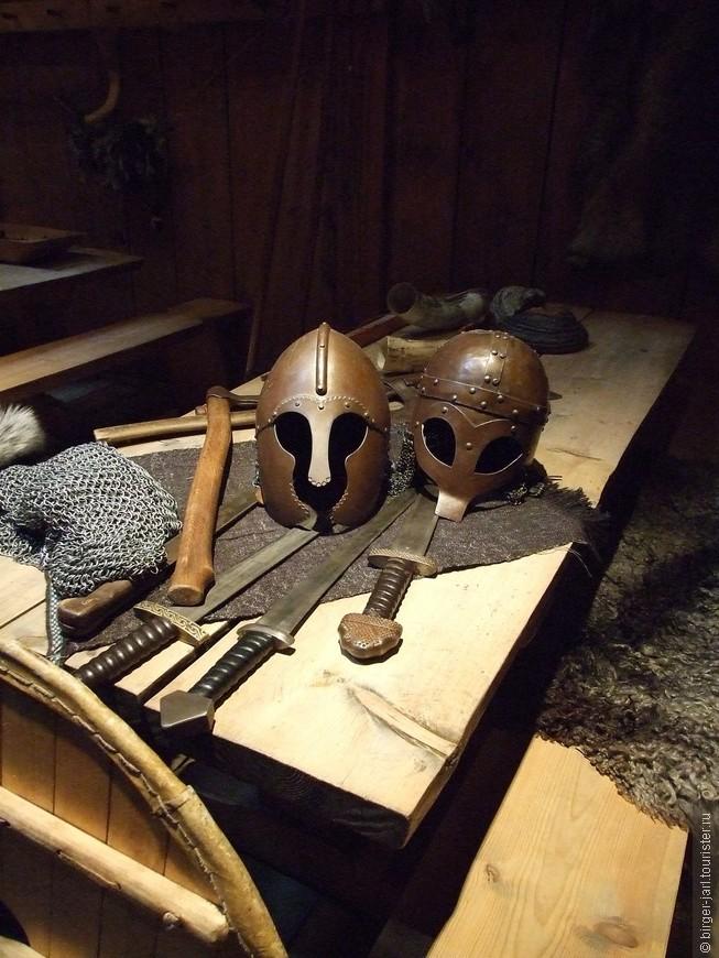 Оружие и доспехи викингов.