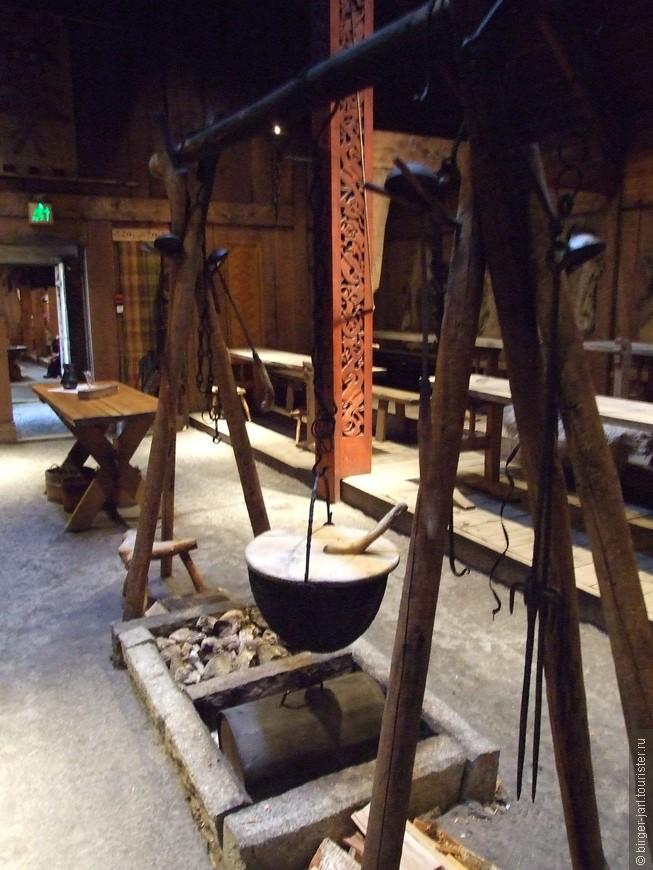 Предметы быта. Музей викингов.