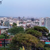 Вид на город с о смотровой площадки Ямаширо