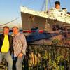 Океанский лайнер Queen Mary и Русская подводная лодка Скорпион