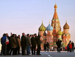 Число иностранных туристов, желающих приехать в Россию, растет
